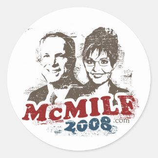 Pegatina 2008 de McMilf