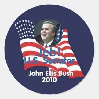 Pegatina 2010 de Jeb Bush