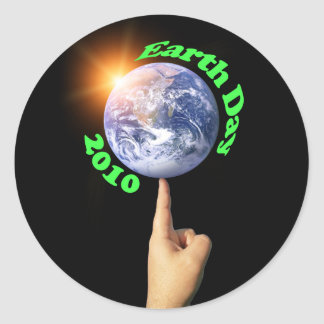 Pegatina 2010 del Día de la Tierra