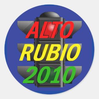 Pegatina 2010 del senado de RUBIO