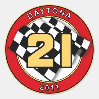 Pegatina 2011 del coche 21 de DAYTONA