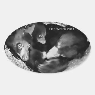 Pegatina 2011 del reloj de la guarida