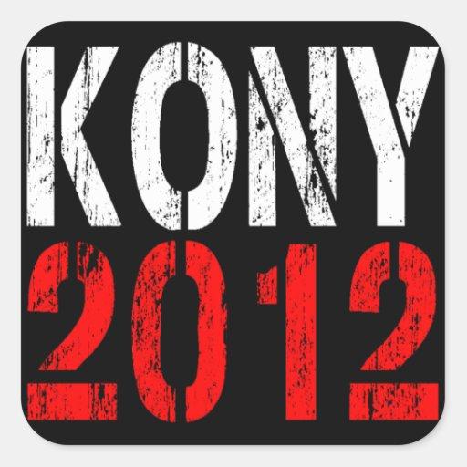 PEGATINA 2012 DE KONY