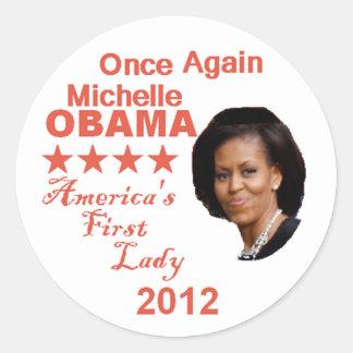 Pegatina 2012 de Michelle