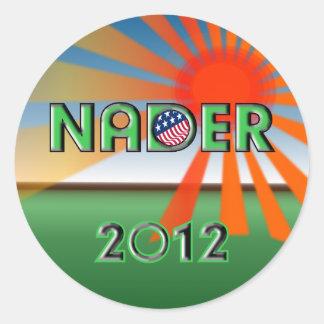 Pegatina 2012 de Nader