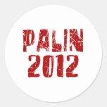 Pegatina 2012 de Palin
