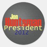 Pegatina 2012 del Huntsman