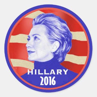 Pegatina 2016 de Hillary