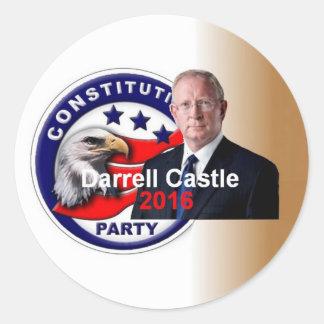 Pegatina 2016 del CASTILLO de Darrell