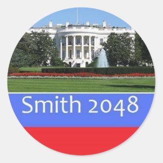 Pegatina 2048 de Smith