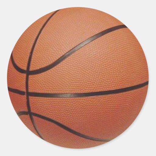 Pegatina 2 del baloncesto