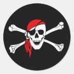 Pegatina 2 del pirata de Yo Ho