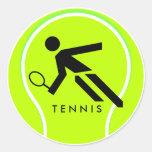 Pegatina 2 del tenis