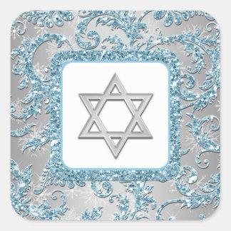 Pegatina 6 de Mitzvah del palo del damasco del