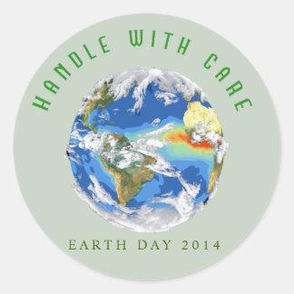 Pegatina adaptable 2014 - tierra del Día de la