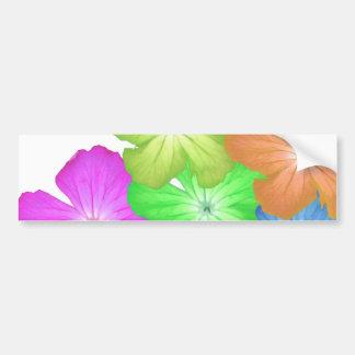 Pegatina adaptable de la ventana del niño de flor pegatina para auto