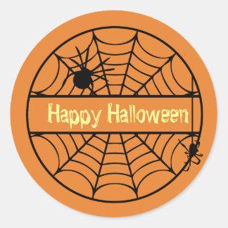 Pegatina adaptable del Web de araña de Halloween