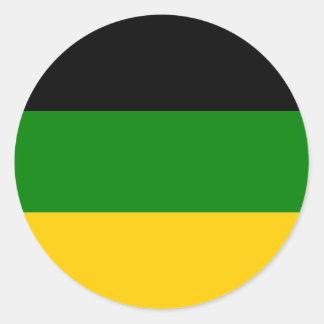 Pegatina africano del congreso nacional
