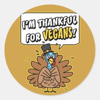 Pegatina agradecido de Turquía