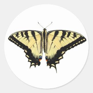 Pegatina amarillo del ~ de Swallowtail