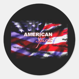 Pegatina americano de la show televisivo de las