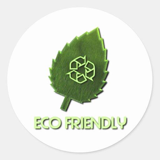 Pegatina amistoso de Eco
