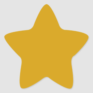Pegatina anaranjado de la estrella