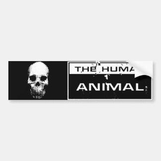 Pegatina animal del cráneo pegatina de parachoque