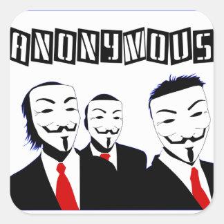 Pegatina anónimo