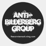 Pegatina Anti-Bilderberg II