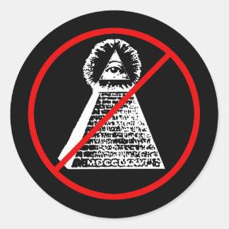 Pegatina anti de Illuminati