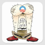 Pegatina anti de Obama