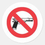Pegatina anti del arma