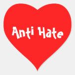 Pegatina anti del odio