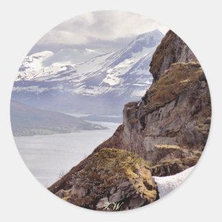 Pegatina ártico de la roca