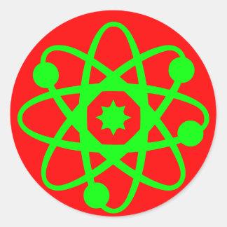 Pegatina atómico