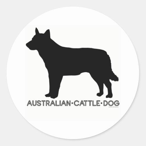 Pegatina australiano del perro del ganado
