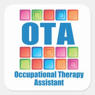 Pegatina auxiliar de OccupationalTherapy OTA