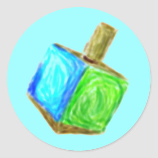 Pegatina azul de Driedel