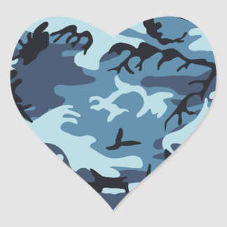 Pegatina azul del camuflaje