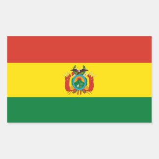 Pegatina Bandera de Bolivia de la bandera de