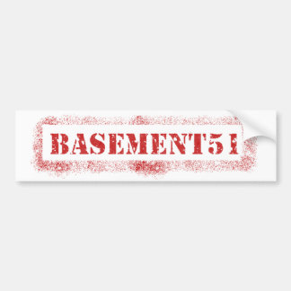 Pegatina Basement51 Pegatina Para Auto