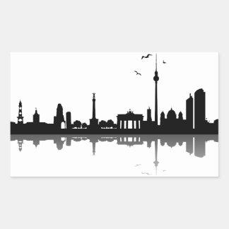 Pegatina Berlín horizonte