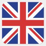 Pegatina BRITÁNICO de la bandera