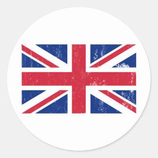 Pegatina británico de la bandera de Union Jack
