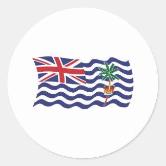 Pegatina británico de la bandera del Océano Índico