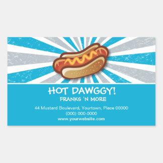 Pegatina caliente de Dawg