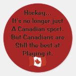 Pegatina canadiense del deporte
