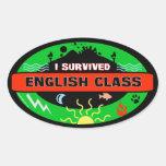 Pegatina caprichoso del superviviente de la clase