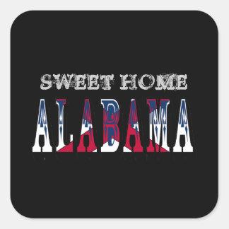 Pegatina casero dulce de Alabama